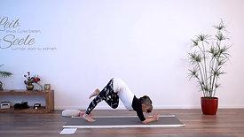 Yoga für Fortgeschrittene, mittleres bis anspruchsvolles Level