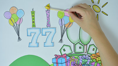 סרטון לפתיחת אירוע יום הולדת לקיבוץ