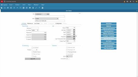 CloudSuite Industrial Production Control Demo