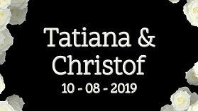 Huwelijk Tatiana & Christof