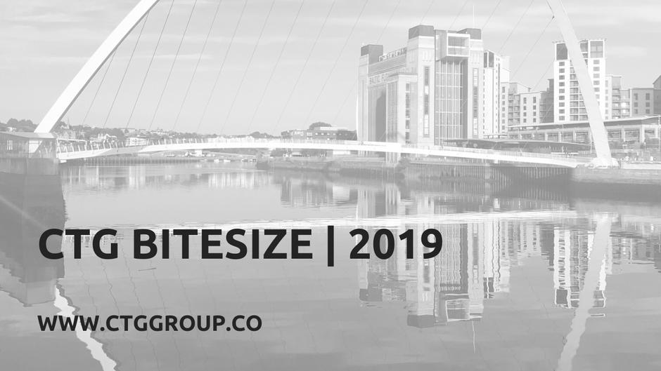 CTG Bitesize | 2019