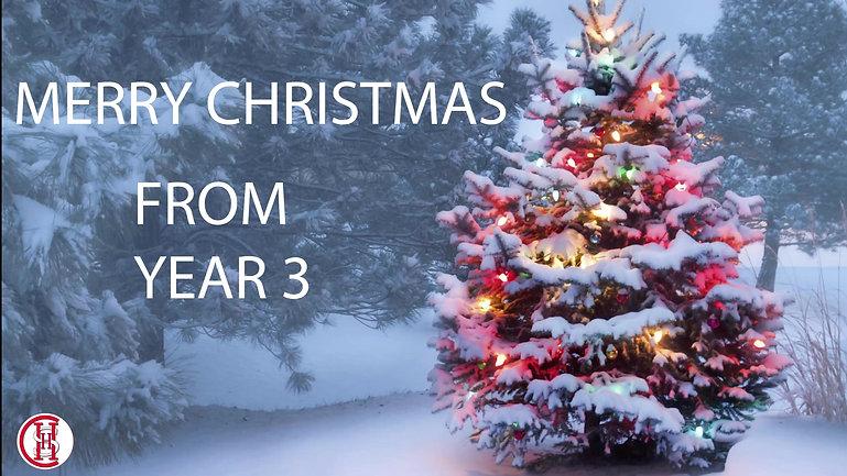 Year 3 Christmas Performance