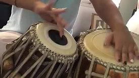 Tabla talio from father, tabla maestro Pt Rajkumar Misra