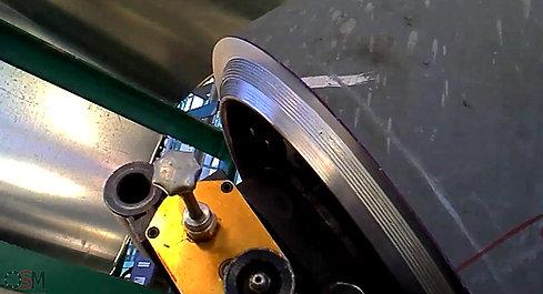 Aanbrengen tulipnaad laskant