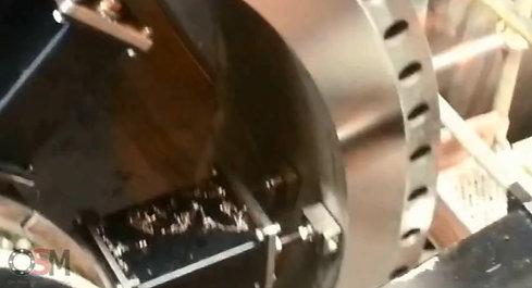 Bewerken inoxe flens 3m diameter.