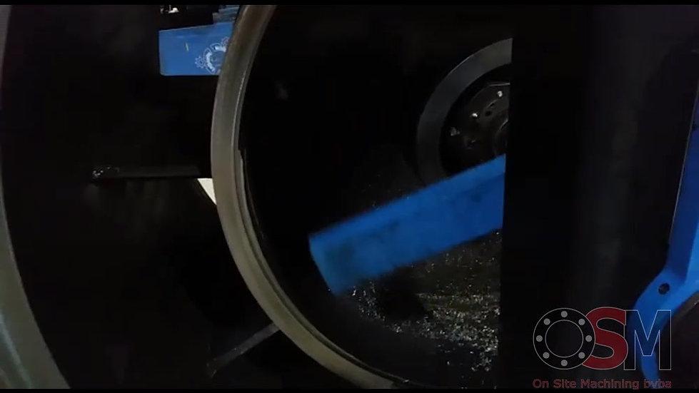 Kotteren verschillende diameters van keerkast.