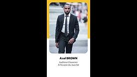 Axel BROWN  - Profil Emploi