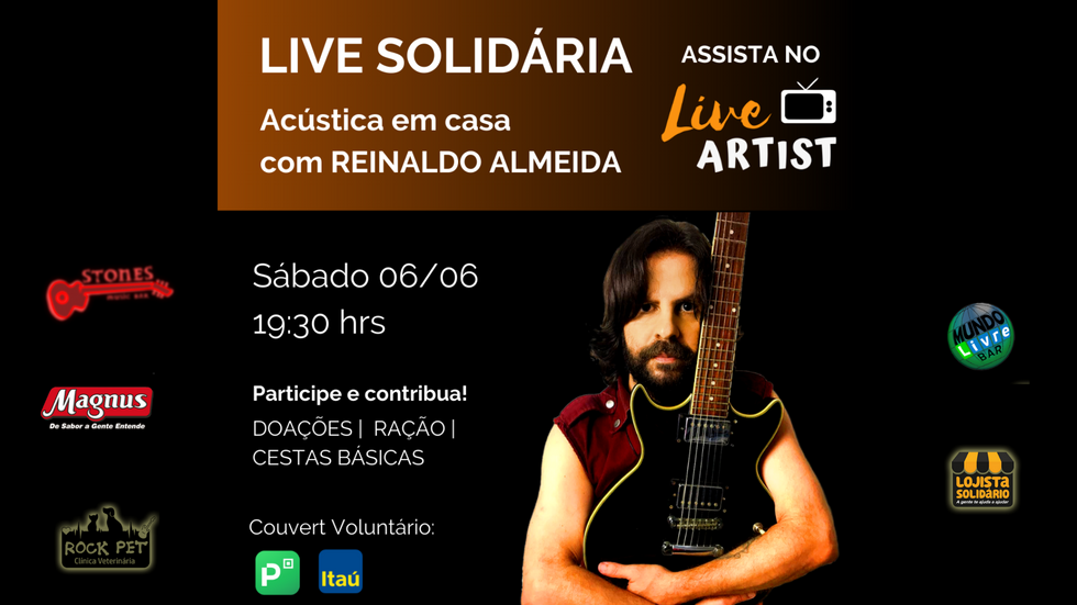 Live Reinaldo Almeida