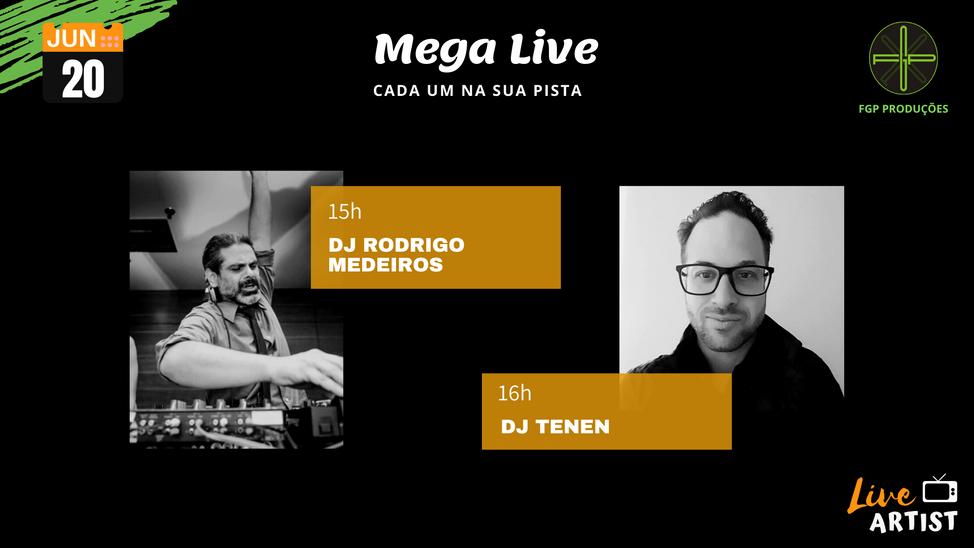 Mega Live - Cada um na sua pista