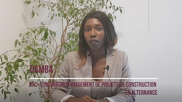 Damba - Apprenti Management de Projets de Construction