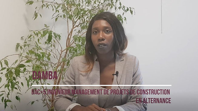 Damba - Apprenti Management de Projets de Construction