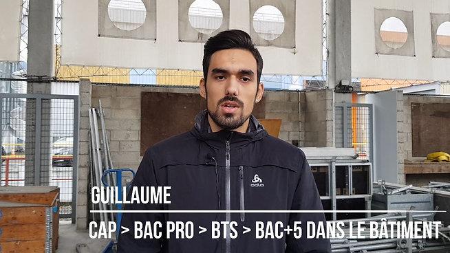 Guillaume - Apprenti du CAP au BAC+5