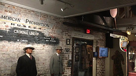 American Prohibition Museum: Gangster Scene
