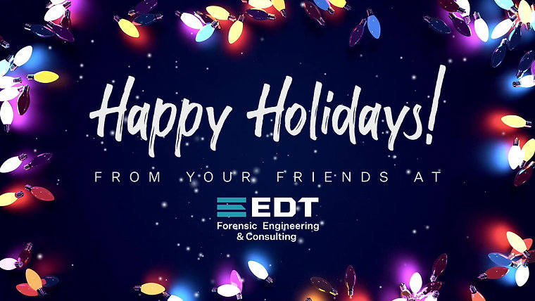 Happy Holidays from EDT 2020