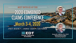 Combined Claims Conference 2020
