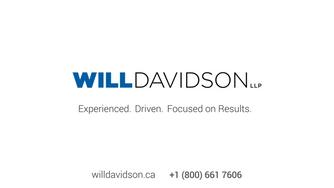 Will Davidson Lawyer Profile Video - Tiffany