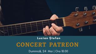 Concert Patreon - Mai 2020: Prima ediție