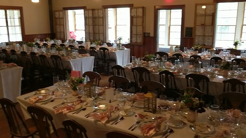 Pine Lodge Resort Main Hall Wedding Venue Bristol Quebec