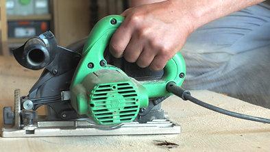 Wooden Slab Cutting