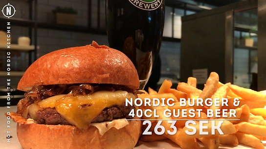 The Nordic Burger