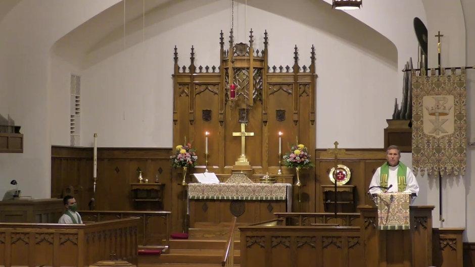 The Ninth Sunday after Pentecost!