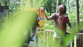 Art Exhibition LES FIGURANTS on Bali