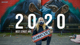 Compilation | Best Street Art & Paintings of 2020!