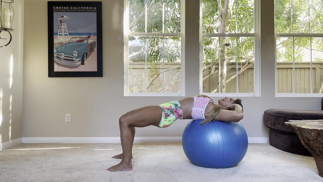 Intermediate Stability Ball Exercises