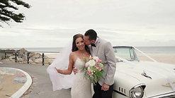 Izy & Eli's wedding day