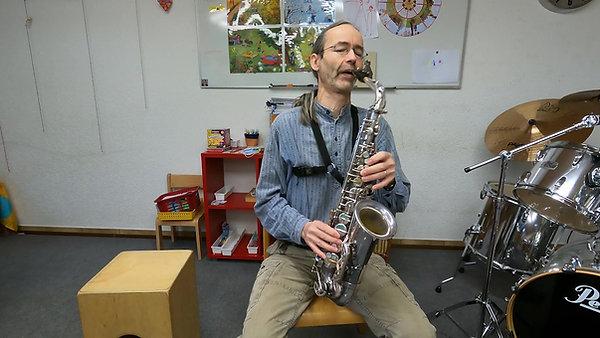 Saxophon und Klarinette Gabriel Loretz