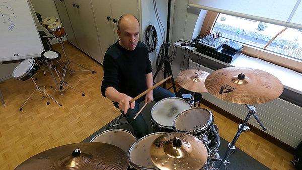Schlagzeug Reto Käser