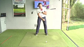 How to hit a straight drive