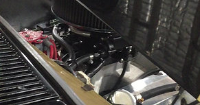 www.rpmengines.com.au first ever holley sniper install on 383 chev stroker engine in hq holden 2017