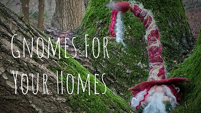 Gnomes For Your Homes- How I Make Your Hand Felted Gnomes