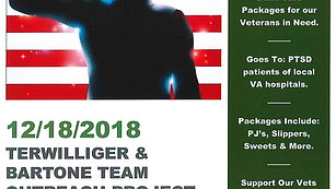 Support Our Vets Team Holiday Project Movie