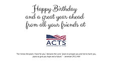 Happy Birthday from all your friends at
