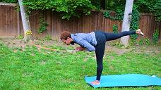 Hadiya Yoga   backyard yoga freestyle
