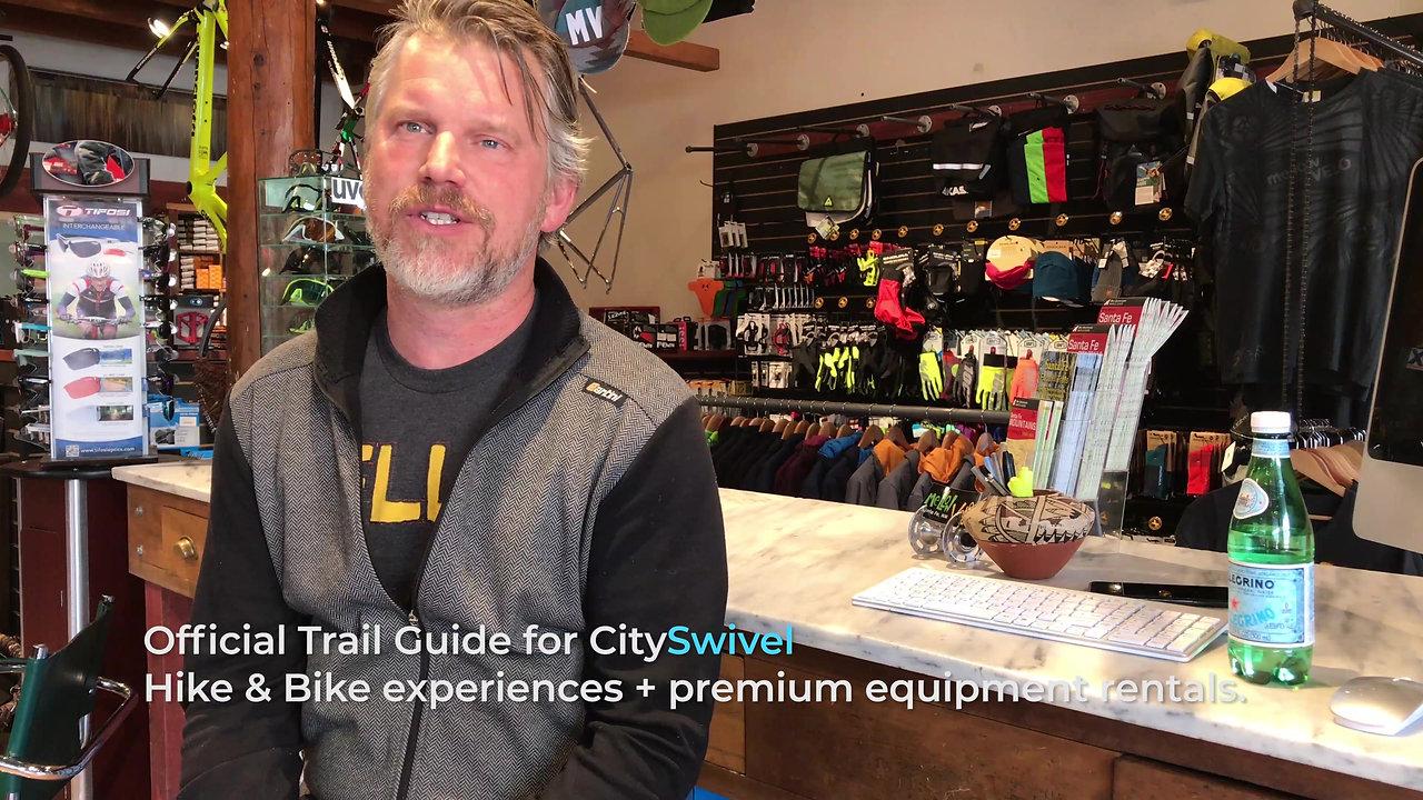 CitySwivel; official navigation app for Mellow Velo Bikes
