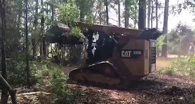 Land Clearing Video 1
