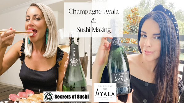Champagne and Sushi Making