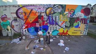 FH HUE Fest Mural 1