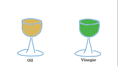 Oil and Vinegar Question