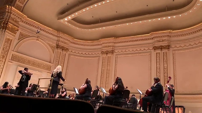 Carnegie Hall 2019 Schindler's List