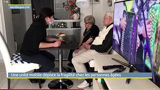 Une unité mobile dépiste la fragilité chez les personnes âgées - Via Occitanie