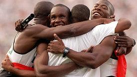 Men's 4x100M Relay at 1996 Atlanta Olympic Games