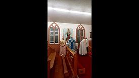 Angelus sung at Church of the Good Shepherd