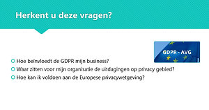 GDPR Quick Scan