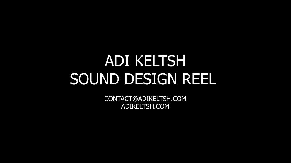 Adi Keltsh Sound Reel