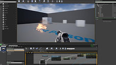 Unreal & Wwise Projectile Collisions Demonstration