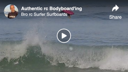 Authentic rc Bodyboarding